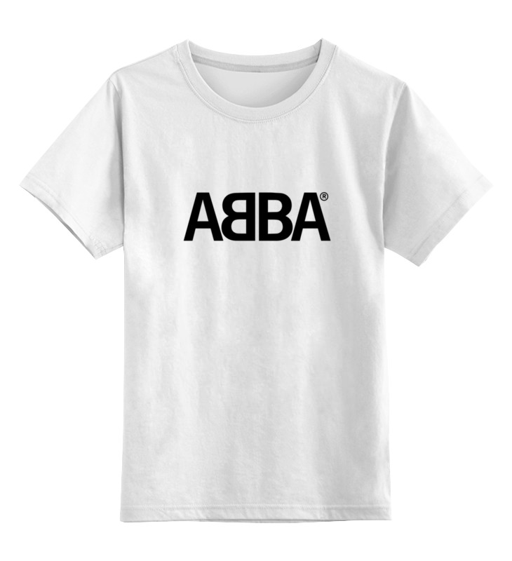 Детская футболка классическая унисекс Printio Группа abba
