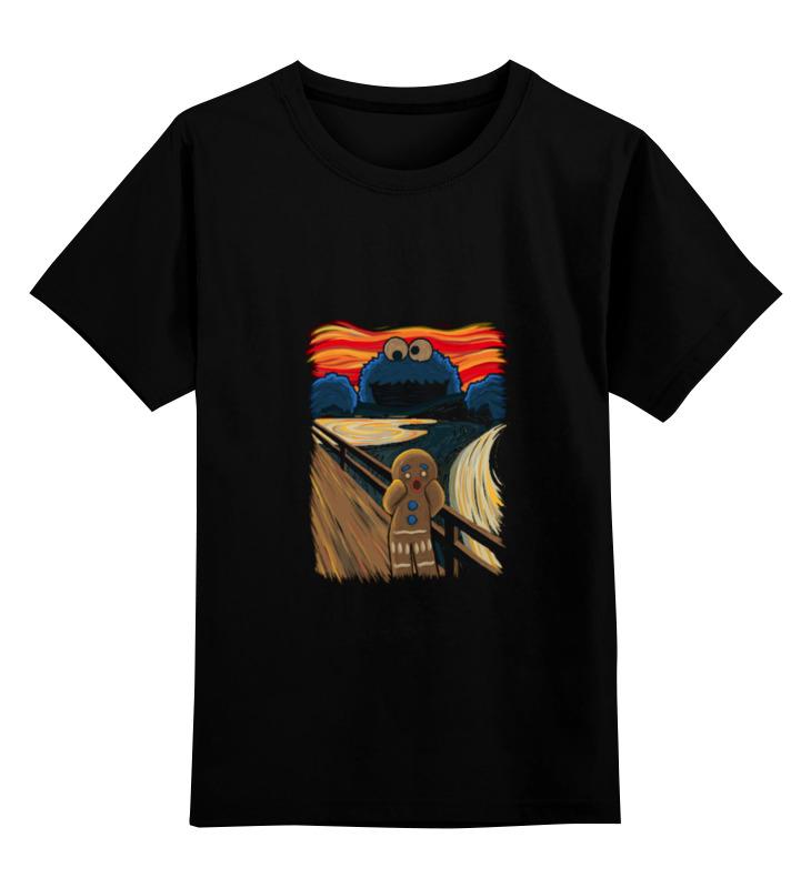 Детская футболка классическая унисекс Printio Пряничный человечек бертон т худ пряничный человечек
