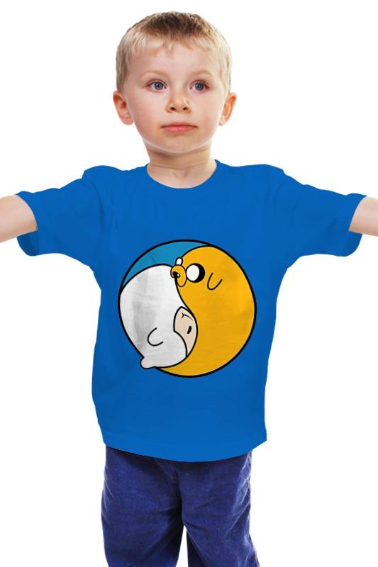 Детская футболка классическая унисекс Printio Adventure time / время приключений футболка классическая printio adventure time