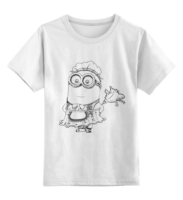 Детская футболка классическая унисекс Printio Миньон детская футболка классическая унисекс printio слава красной армии