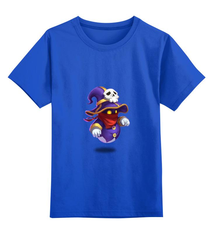 Детская футболка классическая унисекс Printio Маг духа castle clash детская футболка классическая унисекс printio clash royale