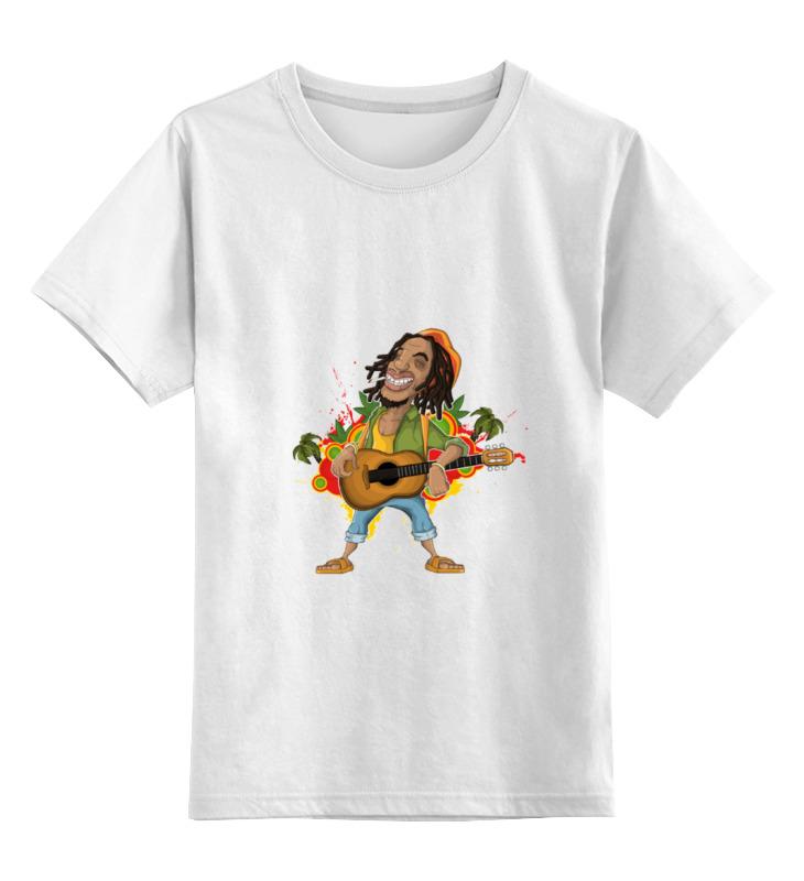 Детская футболка классическая унисекс Printio Боб марли детская футболка классическая унисекс printio спанч боб
