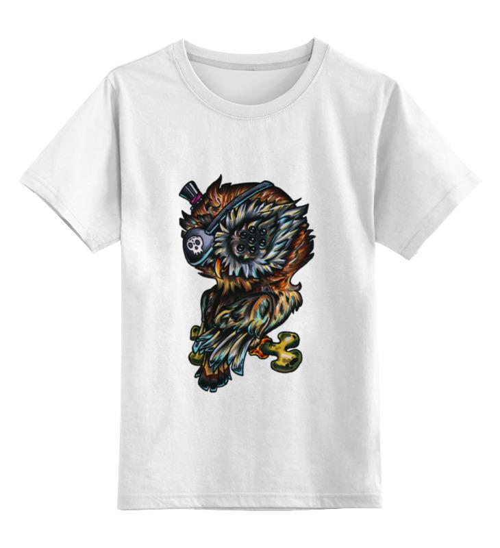 Детская футболка классическая унисекс Printio Многоглазая сова пират детская футболка классическая унисекс printio панда пират