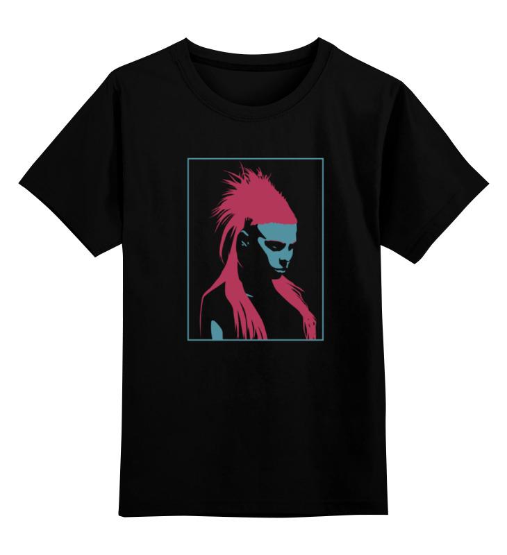 Детская футболка классическая унисекс Printio Die antwoord нож рейв