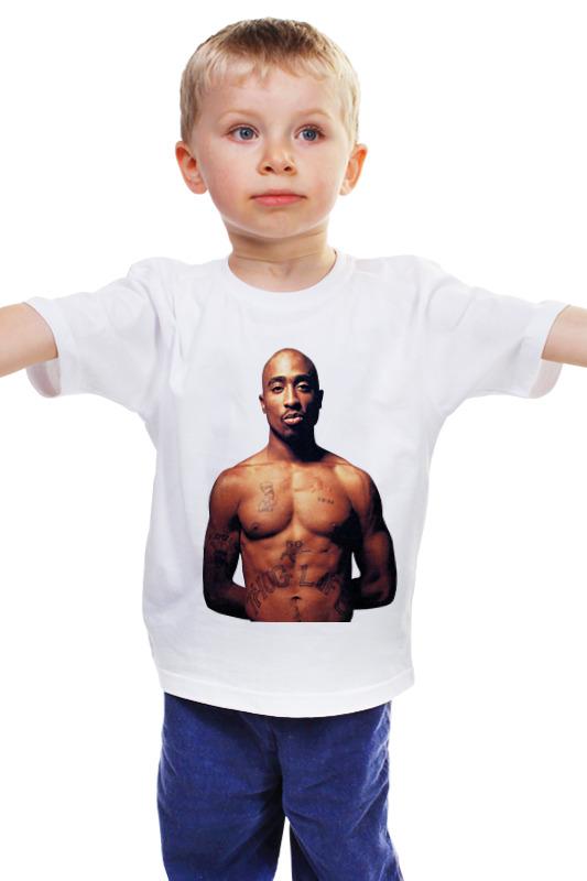 Детская футболка классическая унисекс Printio 2 pac футболка классическая printio 2 pac