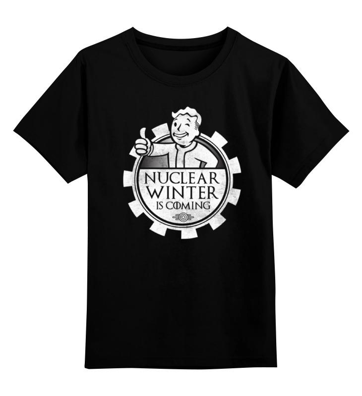 Детская футболка классическая унисекс Printio Fallout. nuclear winter is coming футболка рингер printio winter is coming