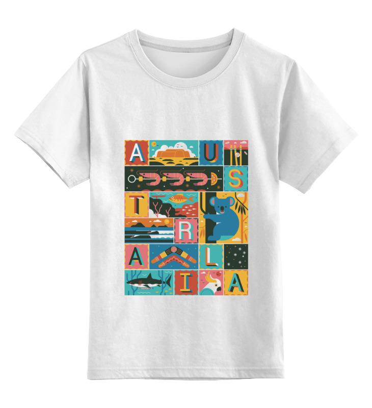 Детская футболка классическая унисекс Printio Австралия