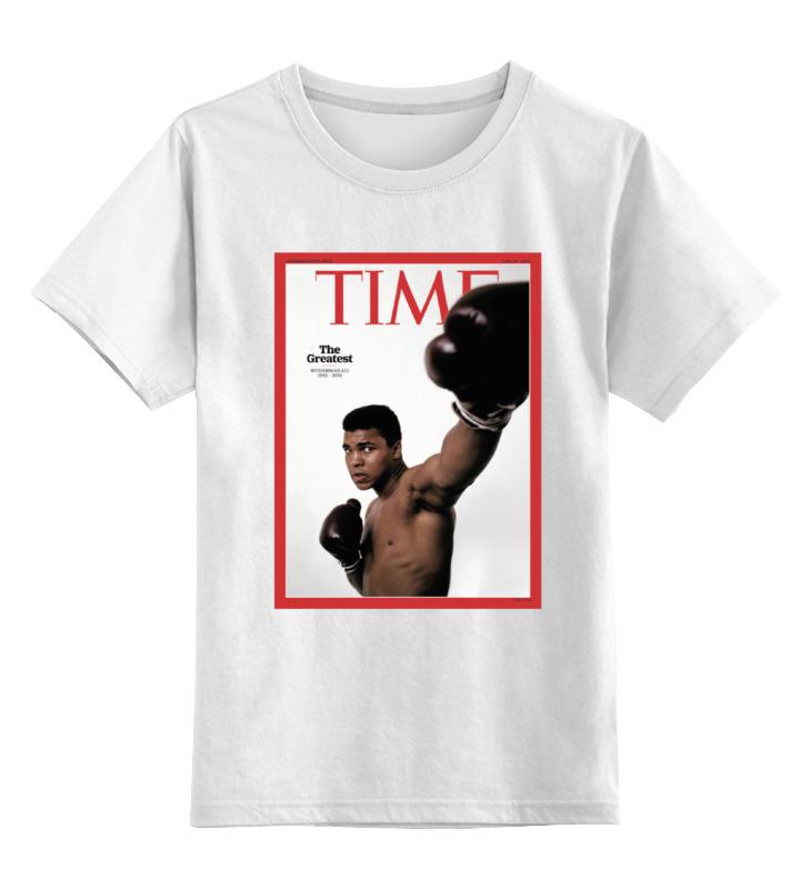 Детская футболка классическая унисекс Printio Muhammad ali все цены