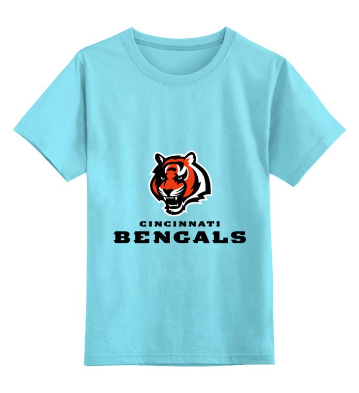 Детская футболка классическая унисекс Printio Cincinnati bengals pete rose signed autographed cincinnati reds stat jersey jsa coa