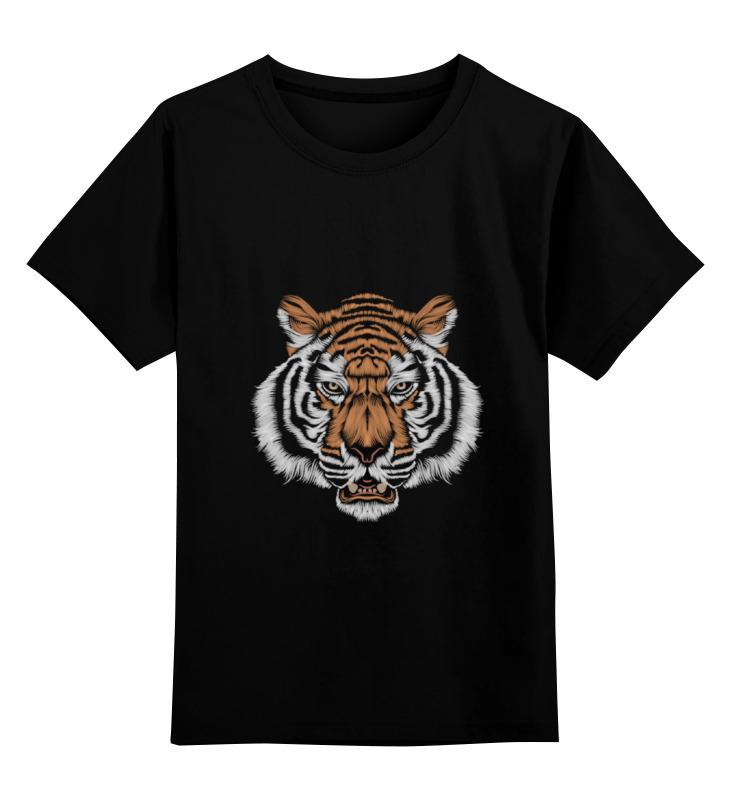 Детская футболка классическая унисекс Printio Взгляд тигра детская футболка классическая унисекс printio морда тигра