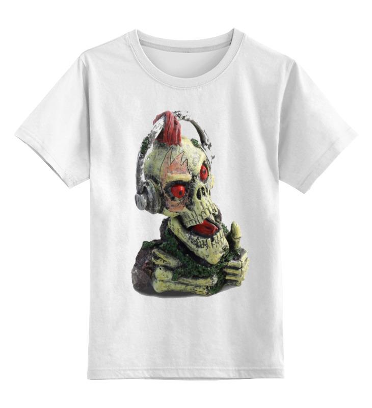 Детская футболка классическая унисекс Printio Черепа футболка детская bodo цвет белый 4 86u размер 86 92