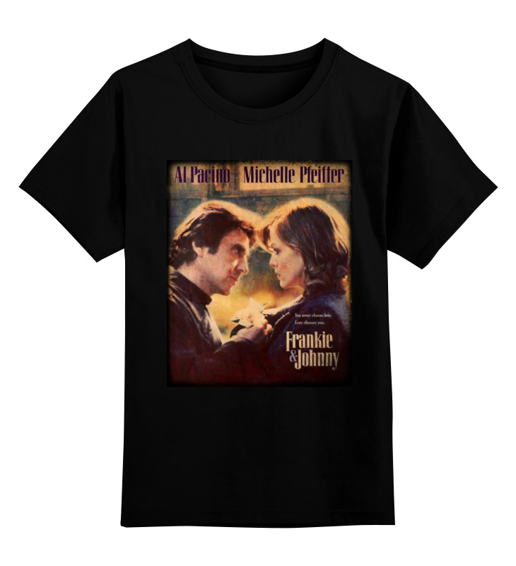 Детская футболка классическая унисекс Printio Фрэнки и джонни футболка классическая printio dixie rebel kappa