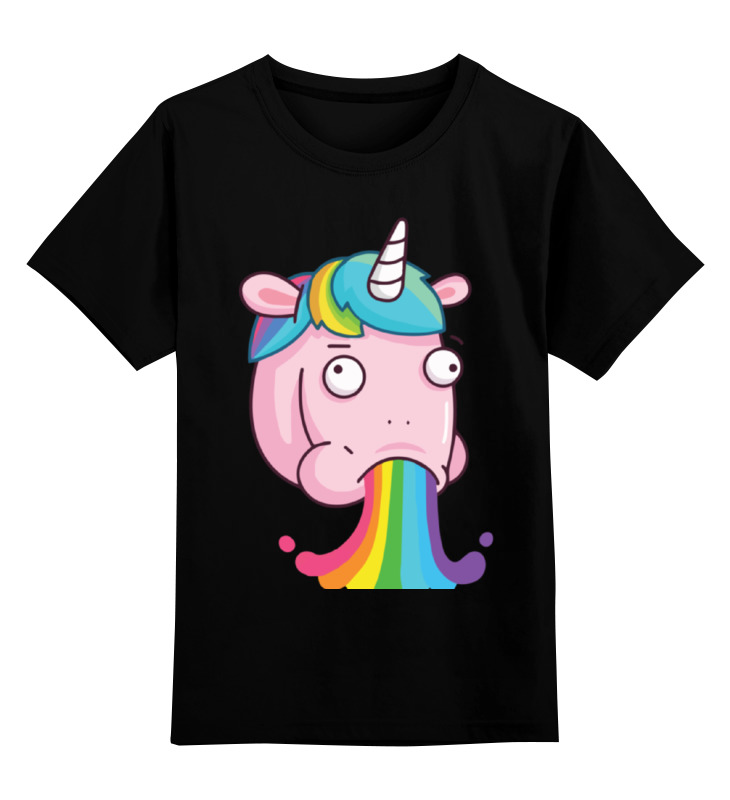 Детская футболка классическая унисекс Printio Unicorn's rainbow / радуга единорога эрже приключения тинтина секрет единорога