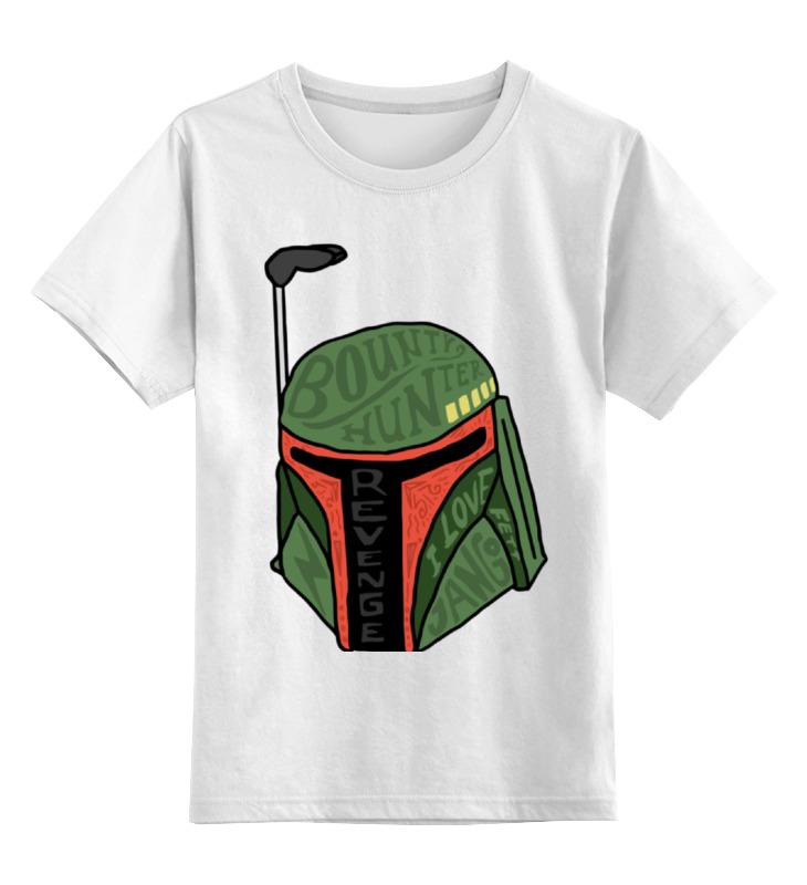 Детская футболка классическая унисекс Printio Boba fett (star wars)