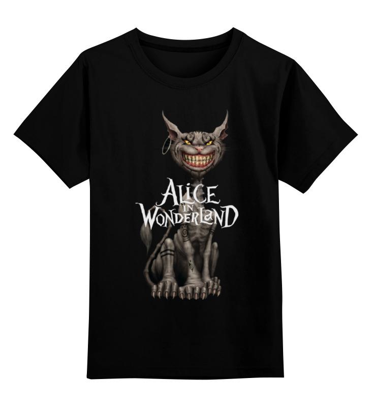 Фото - Детская футболка классическая унисекс Printio Alice in wonderland футболка классическая printio alice in wonderland rock