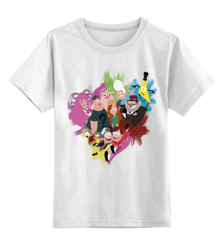 Детская футболка классическая унисекс Printio Гравити фолз