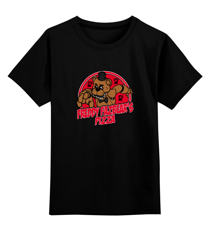 Детская футболка классическая унисекс Printio Freddy fazbears (пять ночей у фредди) майка классическая printio freddy fazbears пять ночей у фредди