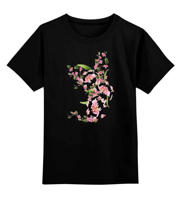 Детская футболка классическая унисекс Printio Цветочный орнамент 2 1072139