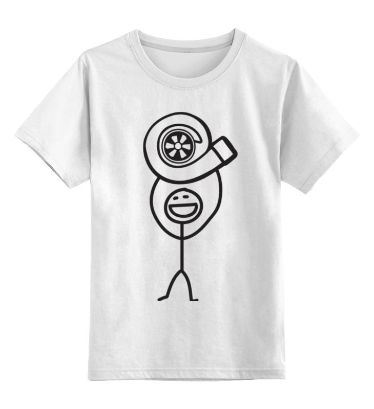 Детская футболка классическая унисекс Printio (улитка)
