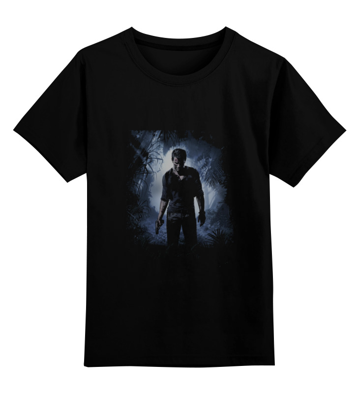 Детская футболка классическая унисекс Printio Uncharted 4 uncharted 4 путь вора ps4