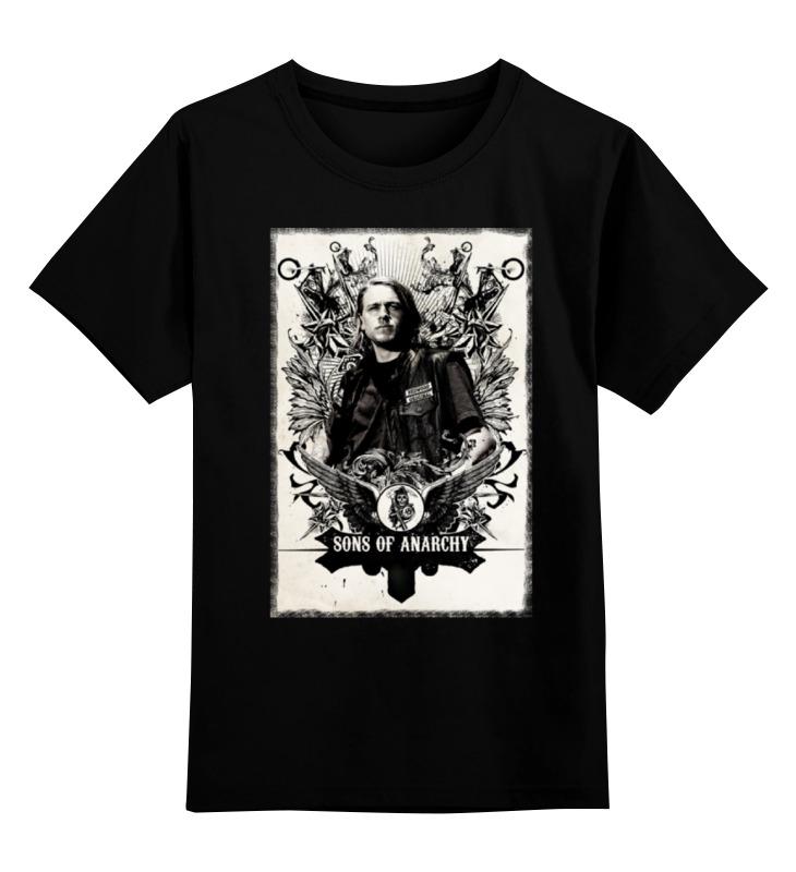 Детская футболка классическая унисекс Printio Сыны анархии голден к сыны анархии братва