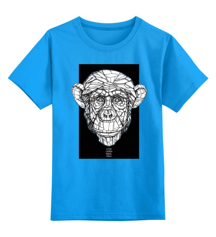 Детская футболка классическая унисекс Printio Monkey детская футболка классическая унисекс printio hit monkey