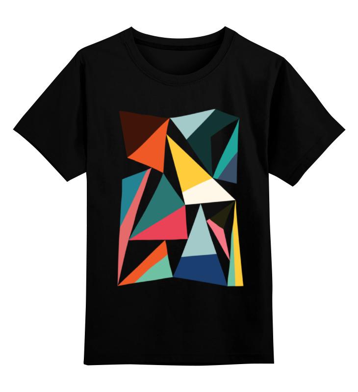 Детская футболка классическая унисекс Printio Треугольники цена и фото