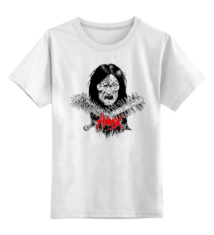 Детская футболка классическая унисекс Printio Hirax band