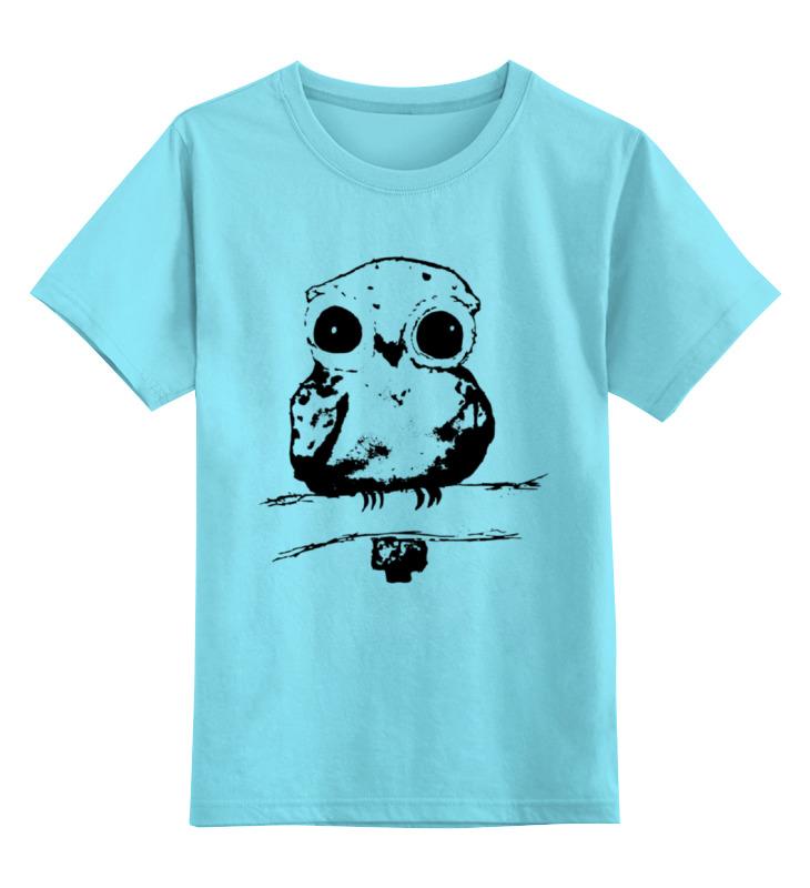 Детская футболка классическая унисекс Printio Лесной житель