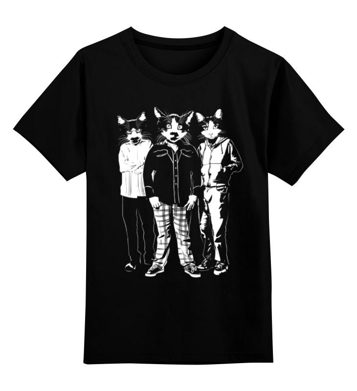Детская футболка классическая унисекс Printio Супер коты детская футболка классическая унисекс printio мотобайк