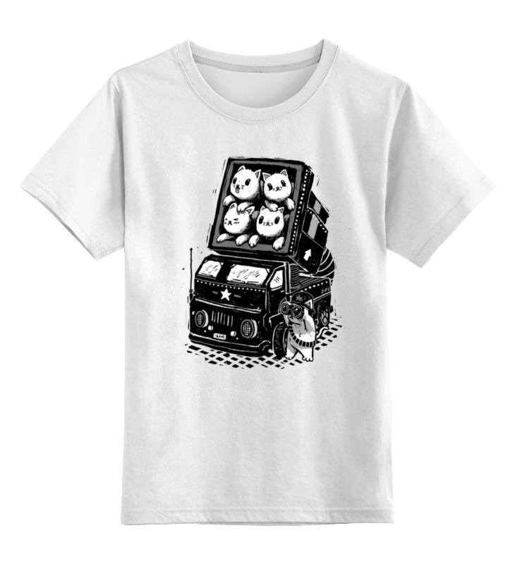 Printio Ракетные коты детская футболка классическая унисекс printio новогодние коты