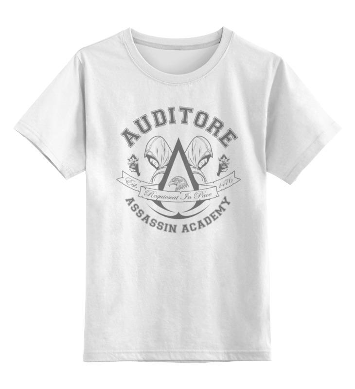 Детская футболка классическая унисекс Printio Assassin academy. assassin's creed