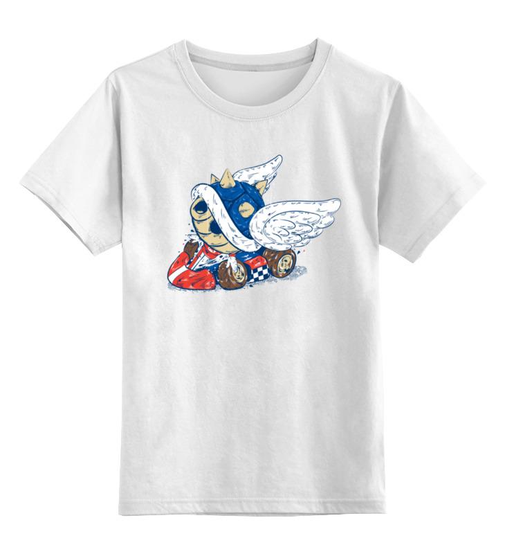Детская футболка классическая унисекс Printio Марио карт детская футболка классическая унисекс printio кинг бу марио