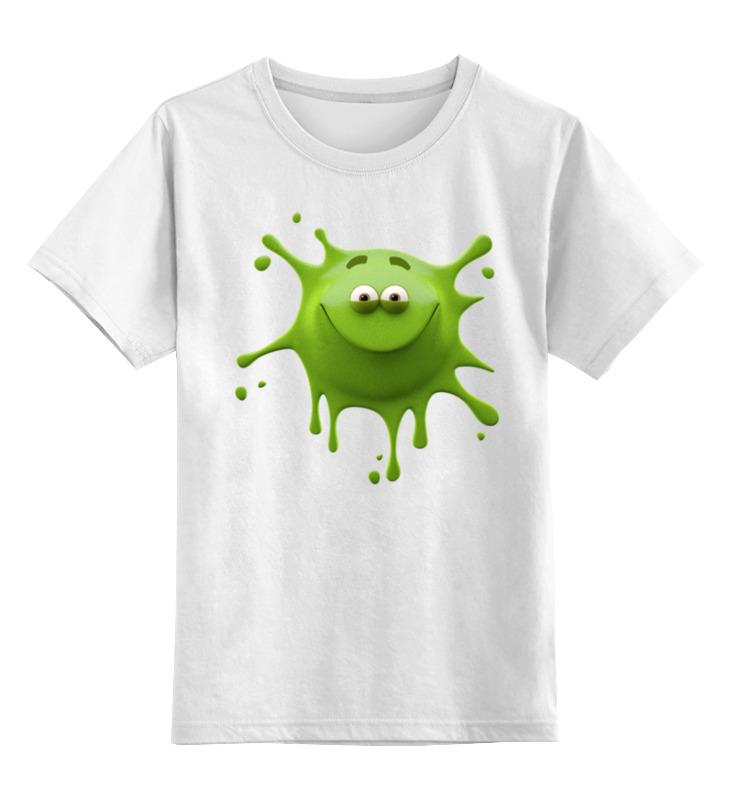 Фото - Детская футболка классическая унисекс Printio Улыбчивая клякса футболка классическая printio клякса qhd