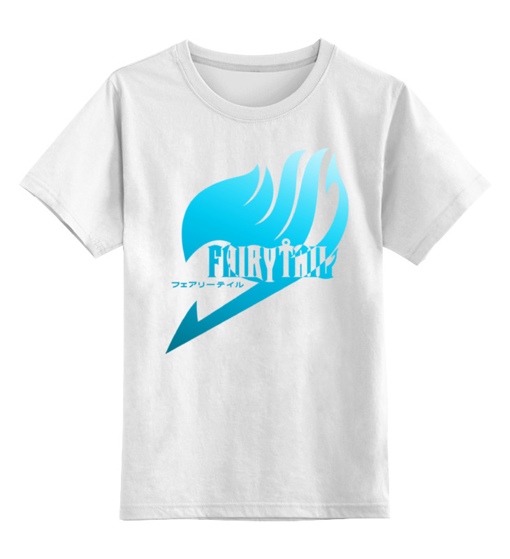 Детская футболка классическая унисекс Printio Fairy tail ( хвост феи ) детская футболка классическая унисекс printio люси fairy tail