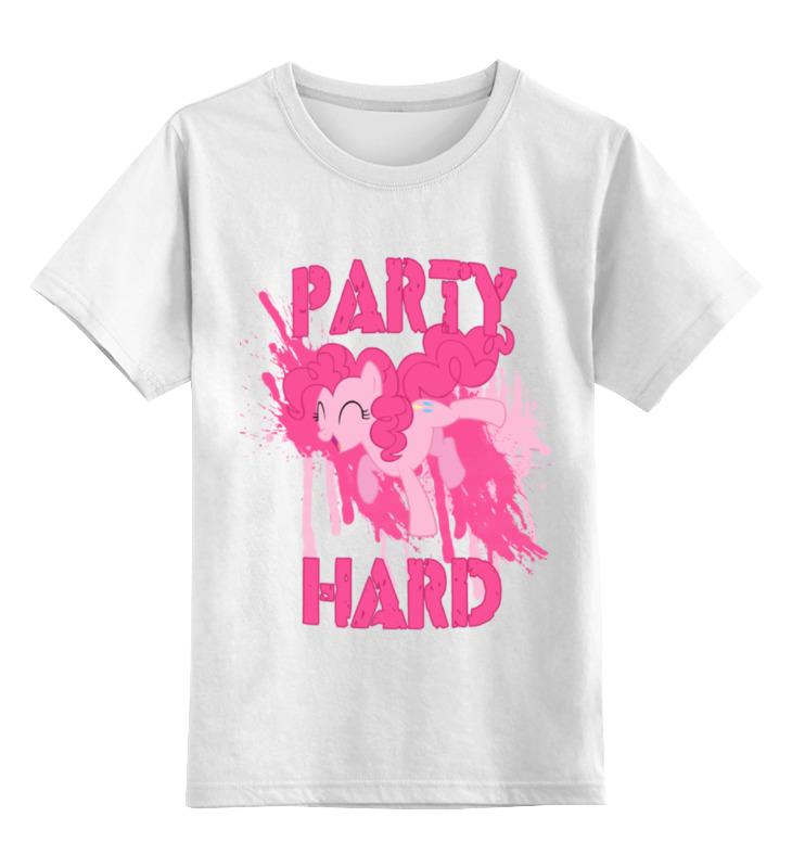 Детская футболка классическая унисекс Printio Mlp пинки пай игровой набор mlp пинки пай на лодке my little pony