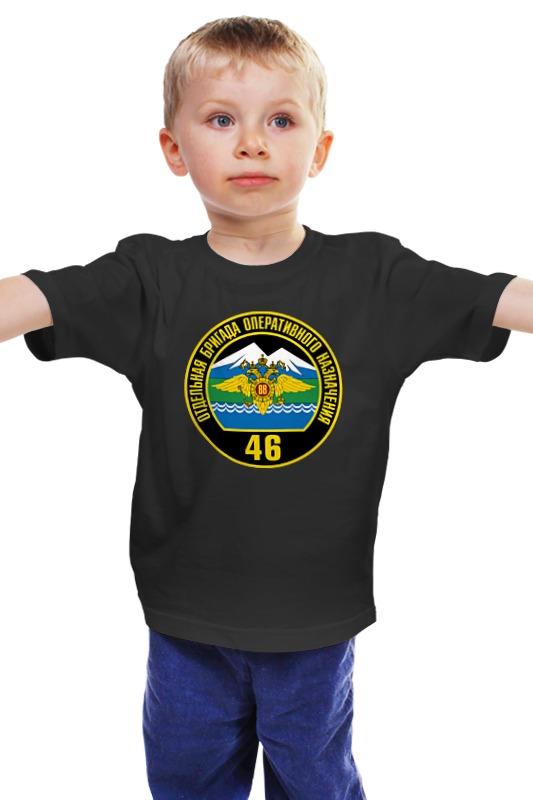 Детская футболка классическая унисекс Printio 46 оброн вв мвд майка классическая printio 94 пон 46 оброн вв мвд