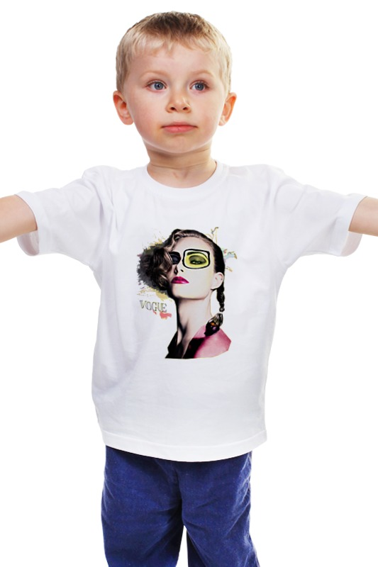 Детская футболка классическая унисекс Printio Vogue детская футболка классическая унисекс printio рога