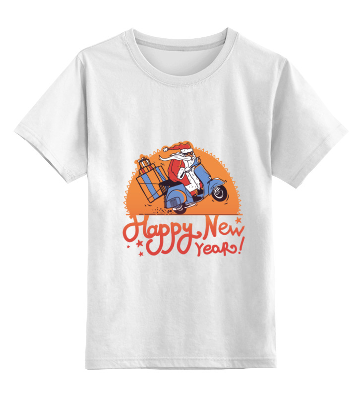 Детская футболка классическая унисекс Printio New year new original otbvr81 warranty for two year