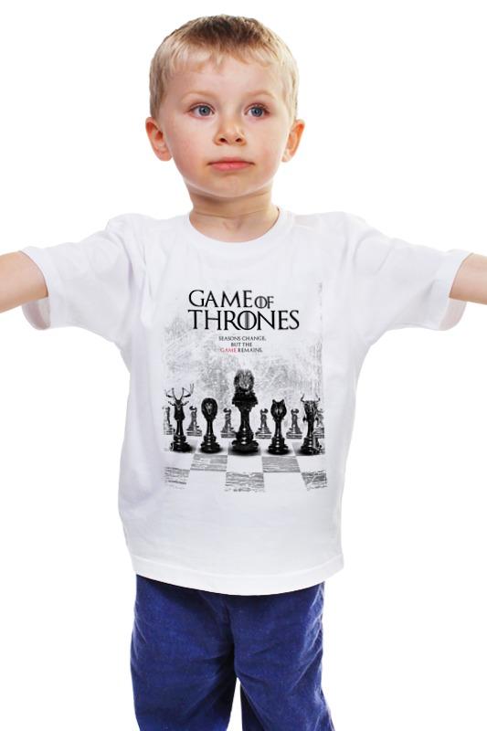 Детская футболка классическая унисекс Printio Game of thrones - игра престолов game of thrones