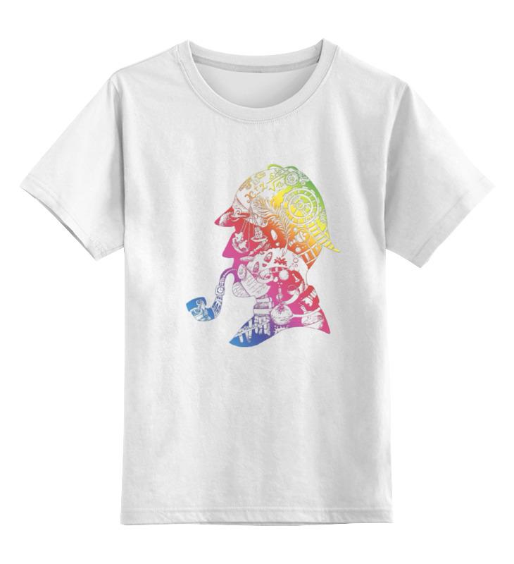 Детская футболка классическая унисекс Printio Элементарно...