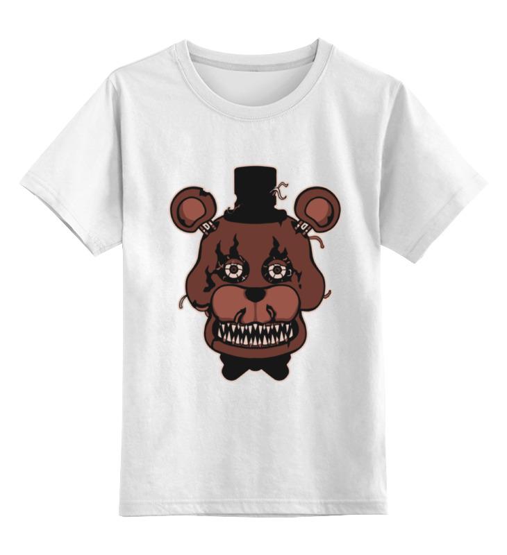 Детская футболка классическая унисекс Printio Freddy fazbears (пять ночей у фредди) футболка классическая printio nancy and freddy
