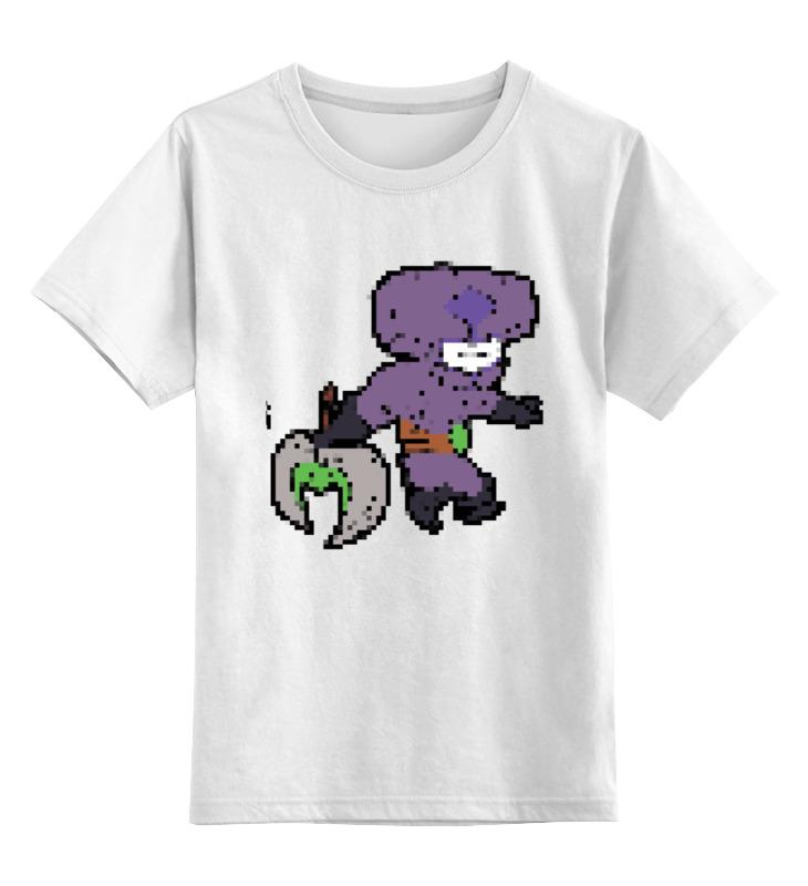 Детская футболка классическая унисекс Printio Фан арт войд пиксели футболка классическая printio арк вардэн фан арт