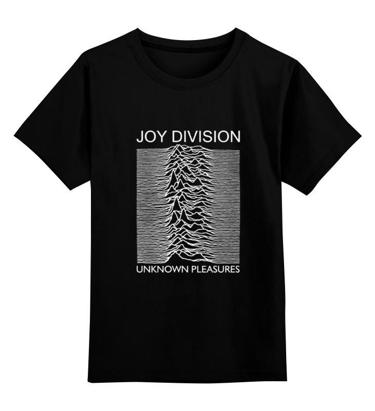 Детская футболка классическая унисекс Printio Joy division joy division joy division closer 180 gr