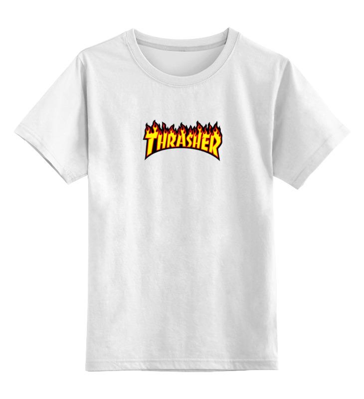 Детская футболка классическая унисекс Printio Thrasher детская футболка классическая унисекс printio thrasher