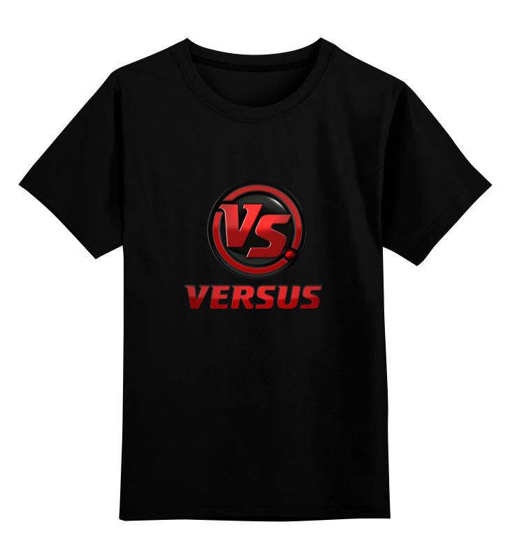 Детская футболка классическая унисекс Printio Версус футболка версус