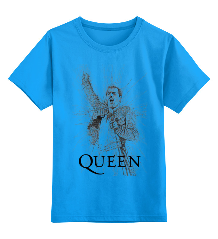 Детская футболка классическая унисекс Printio Freddie mercury - queen футболка queen