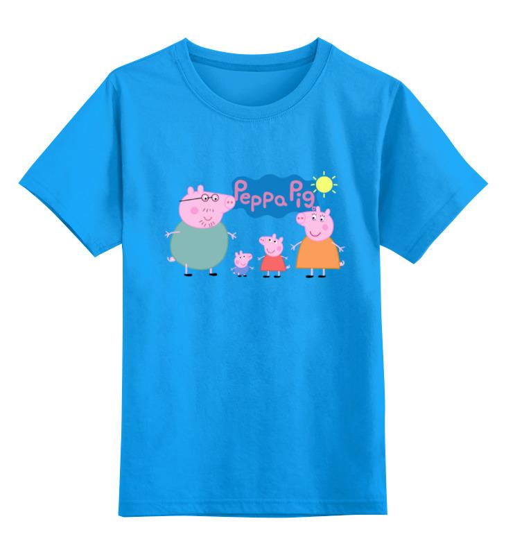 Детская футболка классическая унисекс Printio Свинка пеппа детские столы и стулья дэми набор мебели к3 06 свинка пеппа