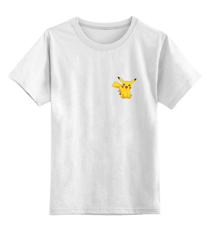 Детская футболка классическая унисекс Printio Pokemon go - catch it! go - catch it! блокнот printio pokemon go
