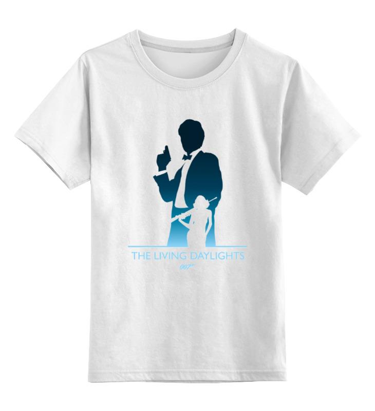 Детская футболка классическая унисекс Printio 007: искры из глаз